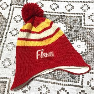 NHL Vintage Calgary Flames hockey hat touque